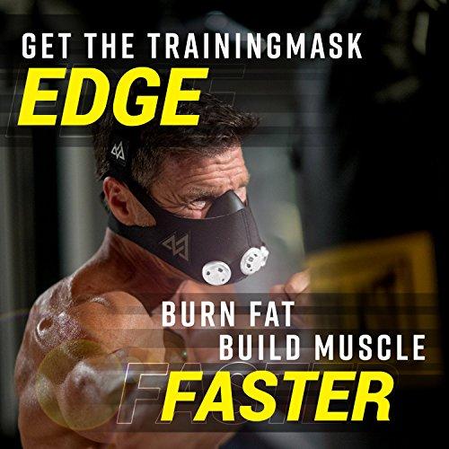 Elevation Training Mask Trainingshilfe Mas 2.0, schwarz, 70 – 110kg, 50-0151 - 6