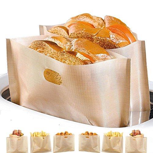 (40% OFF) Non Stick Reusable Toaster Bags $4.79 – Coupon Code