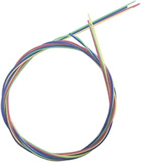 ZimoSet 4 Rainbow Colorful Color Strings for Ukulele 60cm23in