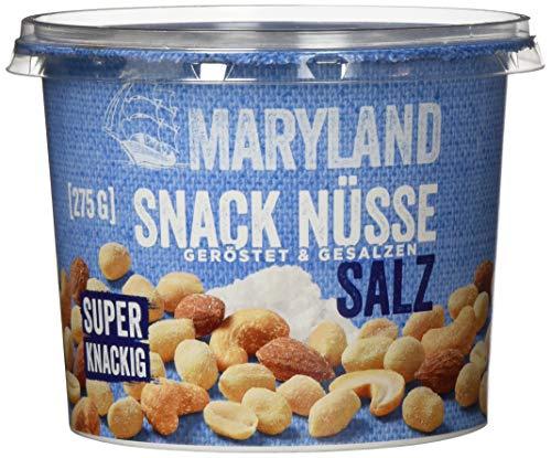 Maryland - Snack Nüsse geröstet und gesalzen - 275g