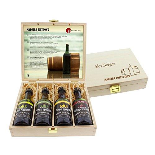 Madeira Degustations-Set mit Ihrer persönlichen Gravur
