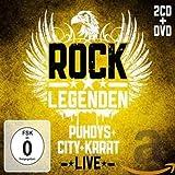 Rock Legenden Live (Limited Edtition 2 CD`s + DVD)
