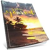 Dékokind® 3 Jahres Journal: Ca. A4-Format, 190+ Seiten, Vintage Softcover • Dicker Jahreskalender, Tagebuch für Erwachsene, Kalenderbuch • ArtNr. 09 Urlaubsfeeling • Ideal als Geschenk