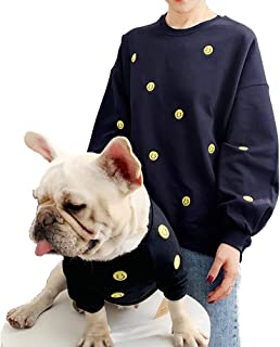 Zhyaj Pet hondenjas voor kleine en middelgrote honden, huisdieren en damessweatshirts, ouder-kind-pakken, kleding voor pup...