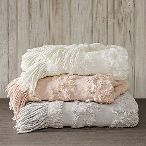 Madison Park Chloe 100% Cotton Tufted Chenille Design With...