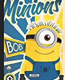 Journal: Minions Cartoon Banana Lover Funny Despicable Me Animation Soft Cover Glossy Girls Kids Daily Creative Writing Journal, Inexpensive Gift 110 Pages 7.5 x 9.25 Inches