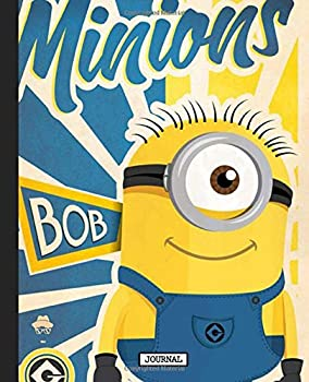 Paperback Journal: Minions Cartoon Banana Lover Funny Despicable Me Animation Soft Cover Glossy Girls Kids Daily Creative Writing Journal, Inexpensive Gift 110 Pages 7.5 x 9.25 Inches Book