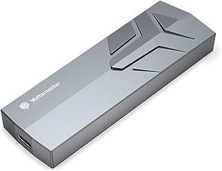 Yottamaster - Adattatore per SSD M.2 NVMe, Gen2 (10 Gbps), per SSD M.2 USBC esterno PCI-E SSD NVMe per M-Key & M+B Key 223...