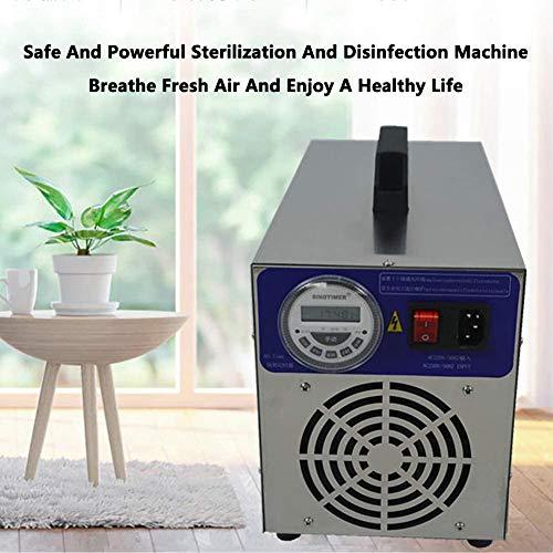 BOYZ Generador de ozono Purificador de Aire de ozono 30000mg / h con Temporizador Pantalla LCD desinfección la Cocina, Reducir el Olor