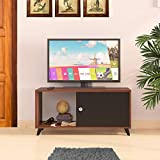 Klaxon Kurup TV Unit (Asian Walnut & Black)