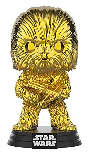 Funko Pop! Star Wars - Chewbacca Gold Chrome #63 (Gold Chrome (Galactic Convention 2019))