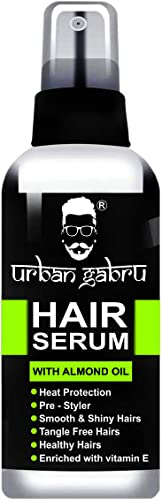 UrbanGabru Hair Serum with Almond Oil for Men and Women, 100ml product image