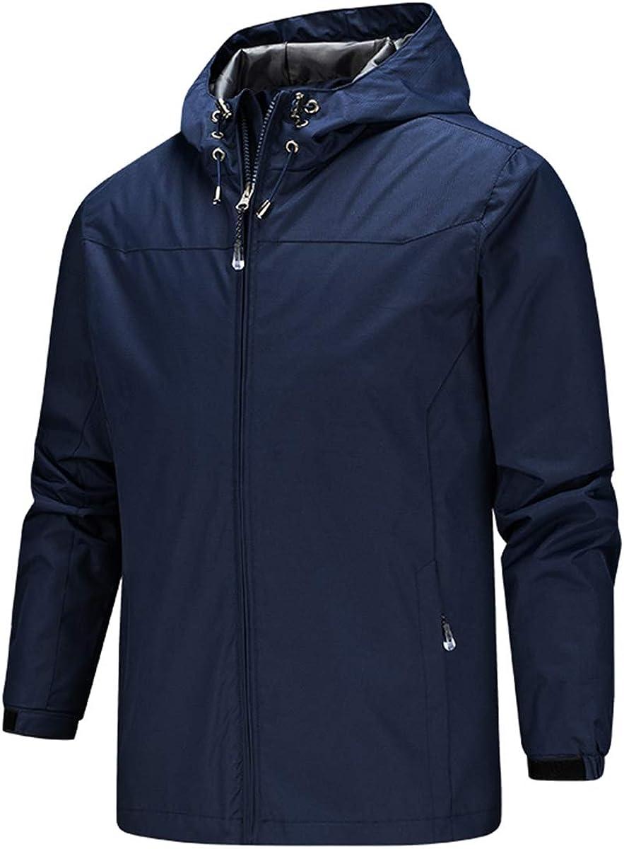 ELISCO Men's Watertight Rain Jacket Raincoats