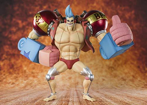 BANDAI - Figurine One Piece - Franky Cyborg Figuarts Zero 20cm - 4573102570277
