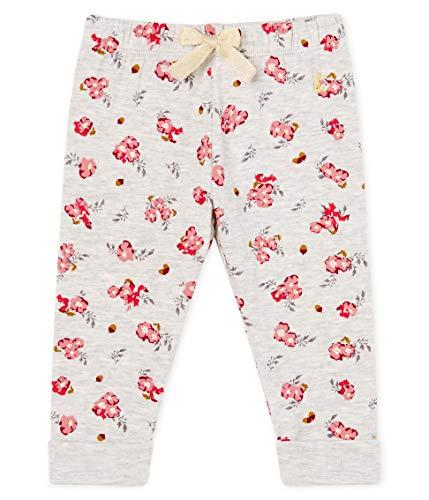 Petit Bateau Pantalon_5298501, Multicolor (Beluga/Multico 01), 92 (Talla del Fabricante: 24M/86centimeters) para Bebés