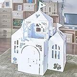ダンボールハウス(白のお城)