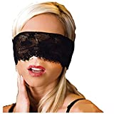 Masque pour les yeux bandés sexy, Midnight Ecstasy Eye Shade pour femmes Adulte Black Masque pour les yeux Sleeping en dentelle...