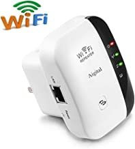 WiFi Range Extender 300Mbps Wireless Repeater Internet Signal Booster 2.4GHz Amplifier Blast for High Speed Easy Set Up Support Repeater/Access Point Mode With WPS, Extend WiFi to Home & Alexa Devices