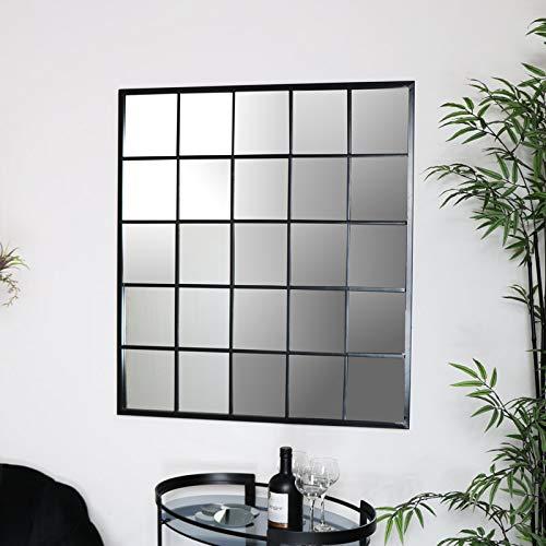 Großer Metall-Fensterspiegel