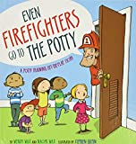 Even firefighters go to the potty toilet training book