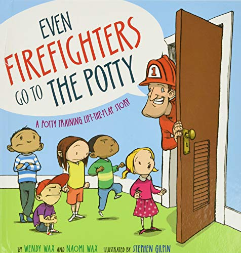 Product Image of the Even Firefighters Go to the Potty: A Potty Training Lift-the-Flap Story