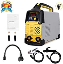 ARC Welding Machine, 200Amp Power,80% Duty Cycle, IGBT AC-DC Dual Voltage (110/220V) Beginner Welder Use Welding Rod Equipment Tools Accessories