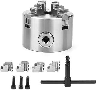 Chuck 3inch SANOU k12-80 4 Jaw Self-Centering Reversible Lathe Chuck 80mm Turning Machine Accessories