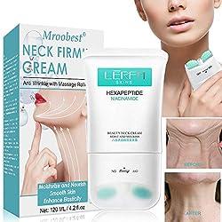 Image of Neck Firming Cream, Neck Tightening Cream, Anti Aging & Wrinkle Neck Cream, Skin Tightening, Helps Double Chin, Turkey Neck Tightener, Repair Crepe Skin: Bestviewsreviews