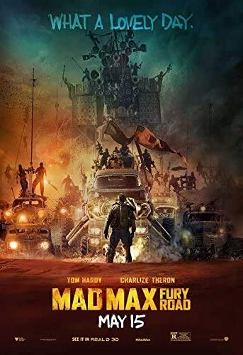 Jigsaw Puzzles 1000 Mad MAX: Fury Road Movie Poster Style C (2015) Unframed