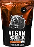 nu3 Vegan Protein 3K Proteine Isolate Vegetali in Polvere 1 kg - Polvere Proteica con...