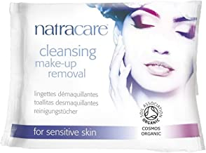 (10 PACK) - Natracare Cleansing Make-Up Removal Wipes | 20s | 10 PACK - SUPER SAVER - SAVE MONEY
