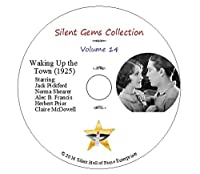 """DVD """"Waking Up the Town""""(1925) Jack Pickford,Norma Shearer,Classic Silent Comedy"""