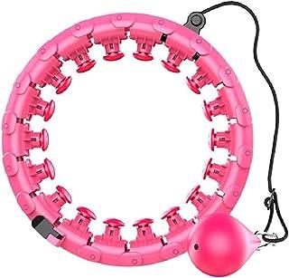 Hoola justerbar storlek med intelligent räknare, inomhus aerobisk fitness för smart hula-ring för män och kvinnor, träning...