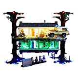 JTTM Light Set per (Stranger Things Il Mondo alla rovescia) Building Blocks Model - LED Light Kit Compatibile con Lego 75810 (Non Inclusa Lego Model)