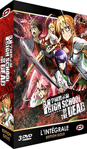 High School of The Dead-Intégrale-Edition Gold (3 DVD + Livret)