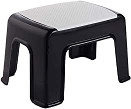 Yxsdd Step Stool Mini Chair Foot Stools for Adults and Kids Change Shoes Stool Shower Foot Rest Household Stool for Bathro...