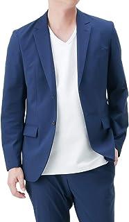 ジャケット メンズ テーラードジャケット 夏 ストレッチ アウター ビジネス ビジカジ NV842220