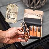 BBQ Grill Gewürze Geschenkset Männer I 5 erlesene Grillgewürze inkl. Rezepte, perfektes Grill Geschenk für Männer, Grill Geschenke für Männer - 6