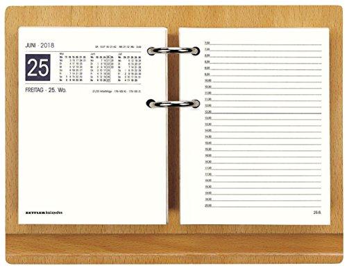 Zettler 333-0000 Tischkalender Kalendergestell Holz o.Block 24x18,5 cm