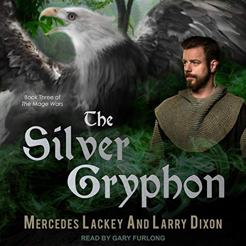 The Silver Gryphon audiobook cover art