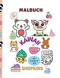 Malbuch kawaii und shopkins (German Edition)