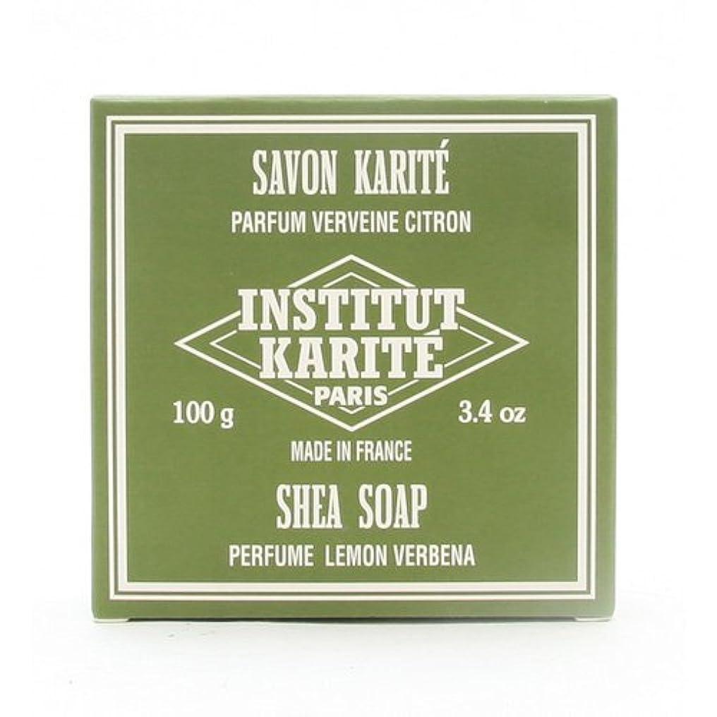 シロナガスクジラ熟す肥沃なINSTITUT KARITE インスティテュート カリテ 25% Extra Gentle Soap ジェントルソープ 100g Lemon Vervenaレモンバーベナ