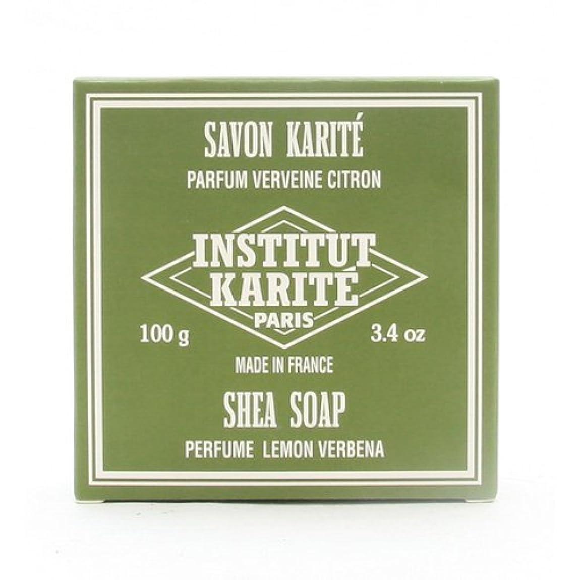 医師サッカーネーピアINSTITUT KARITE インスティテュート カリテ 25% Extra Gentle Soap ジェントルソープ 100g Lemon Vervenaレモンバーベナ