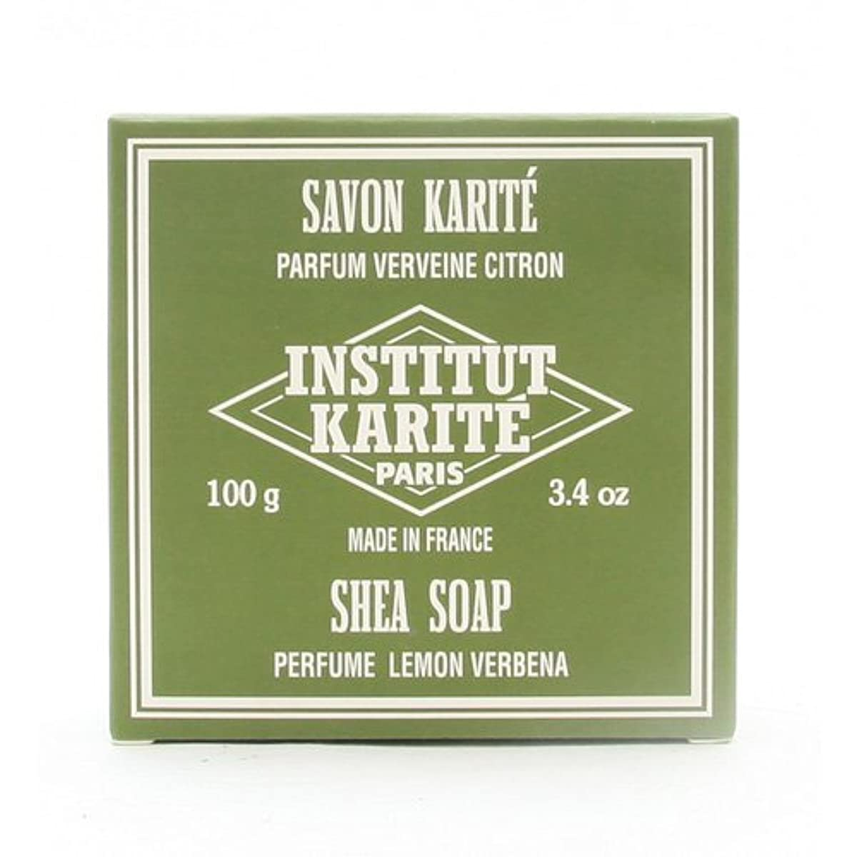 迫害ピークメカニックINSTITUT KARITE インスティテュート カリテ 25% Extra Gentle Soap ジェントルソープ 100g Lemon Vervenaレモンバーベナ