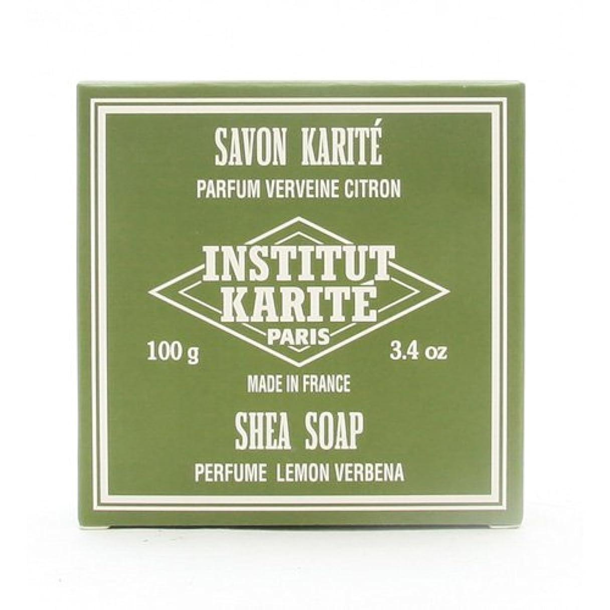 あまりにも自治的危機INSTITUT KARITE インスティテュート カリテ 25% Extra Gentle Soap ジェントルソープ 100g Lemon Vervenaレモンバーベナ