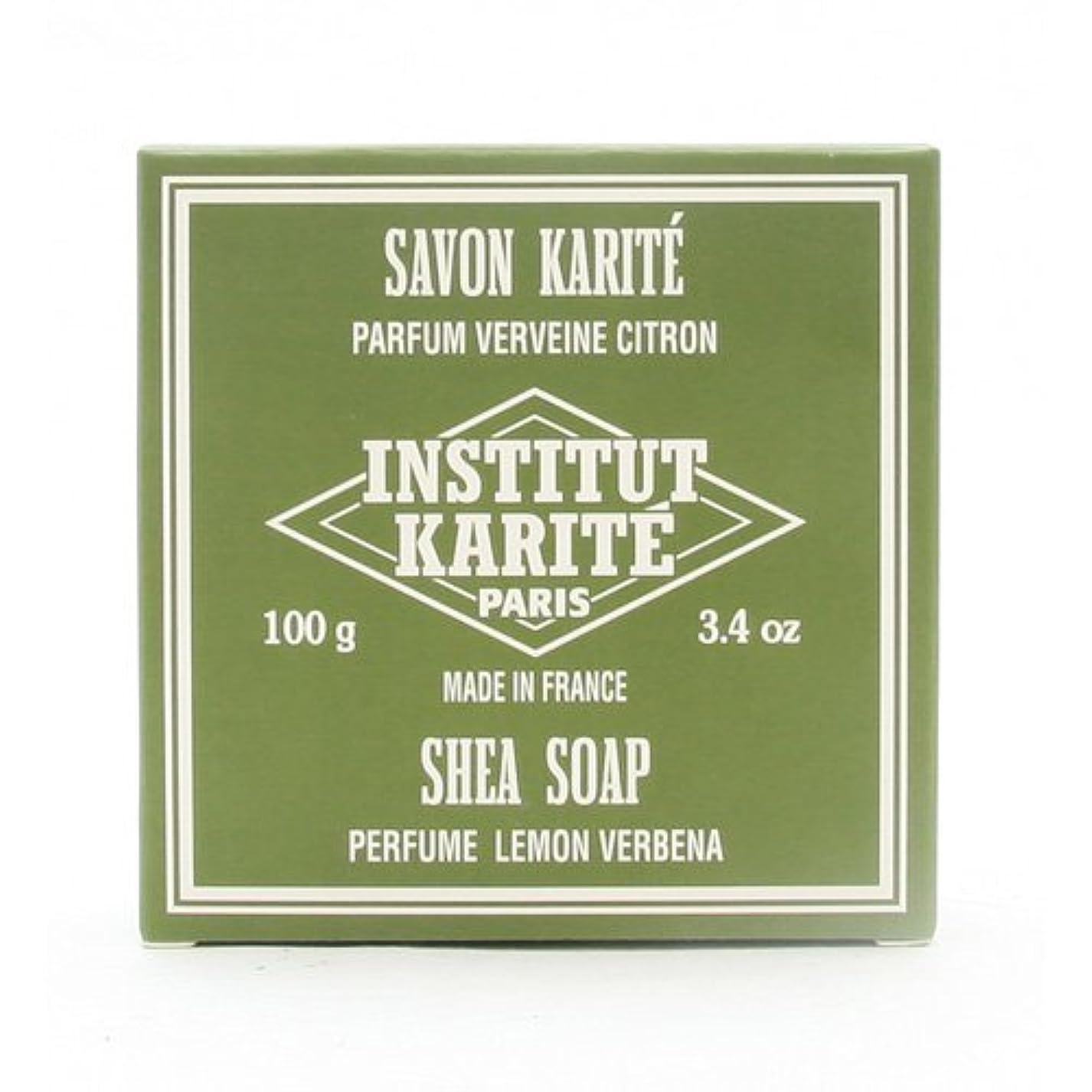成功考える仕方INSTITUT KARITE インスティテュート カリテ 25% Extra Gentle Soap ジェントルソープ 100g Lemon Vervenaレモンバーベナ