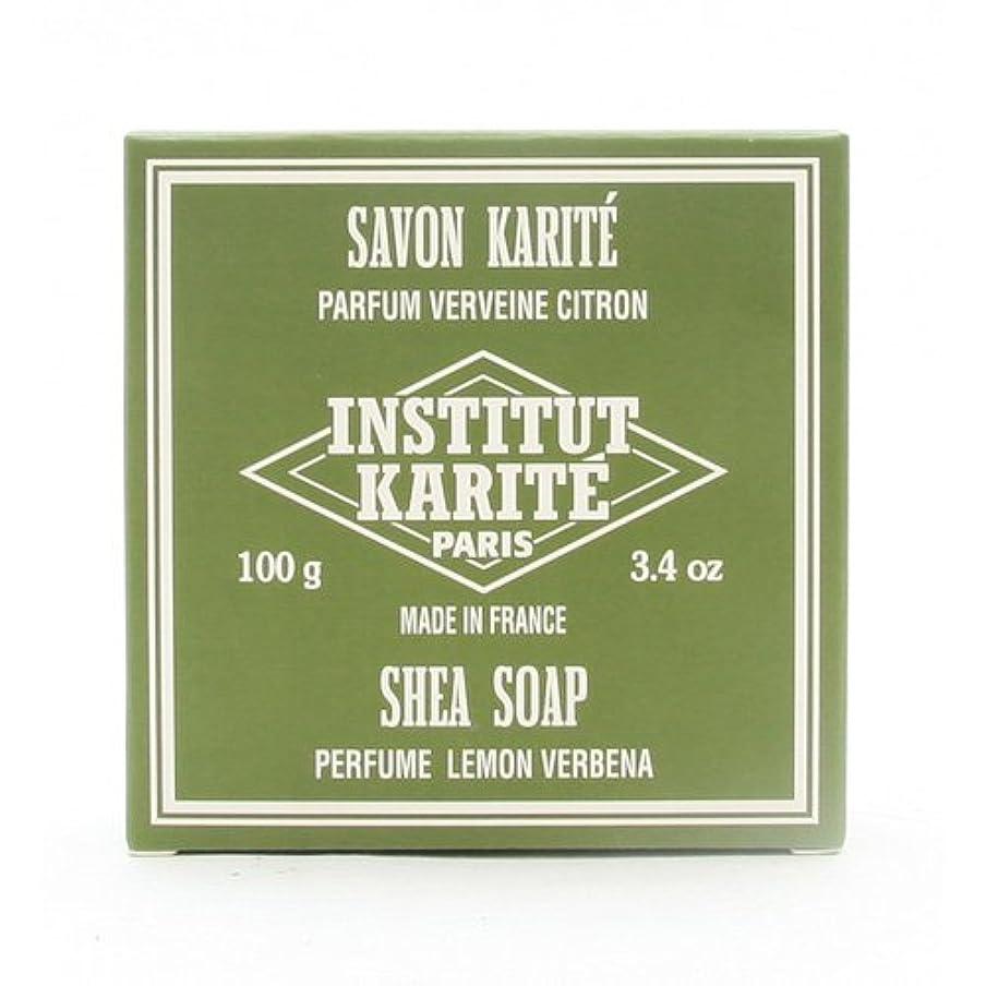 勘違いする割り当てるシェードINSTITUT KARITE インスティテュート カリテ 25% Extra Gentle Soap ジェントルソープ 100g Lemon Vervenaレモンバーベナ