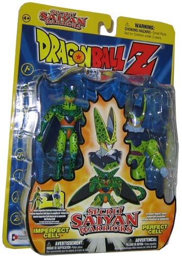 Dragonball Z Secret Saiyan Warriors Action Figure 2-Pack Imperfect Cell & Perfect Cell image