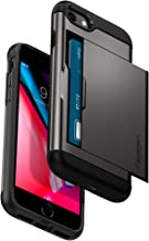 Spigen Slim Armor CS Designed for Apple iPhone 8 Case (2017) / Designed for iPhone 7 Case (2016) - Gunmetal