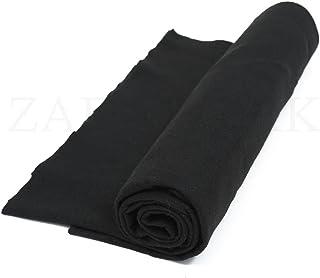 B/ügeleinlage| Farbe schwarz #4 // Lange: 4 Meter B/ügelvlies mit Klebepunkten 200H zum Aufb/ügeln Einseitig Vlieseinlage